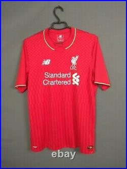 Clyne Liverpool Jersey 2015 2016 Domicile M Chemise Tricot Mens New Balance ig93
