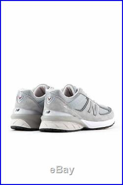 NEW BALANCE Men's 990v5 Made in US grey sneakers