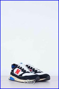 NEW BALANCE Men's black and white X-Racer sneakers