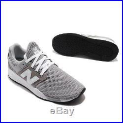 New Balance 247 D Grey White Mens Running Shoes Lifestyle Sneakers MS247FJ D