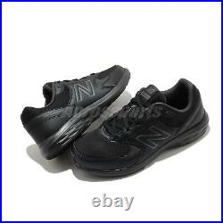 New Balance 550 Extra Wide Black Grey Men Running Shoes Sneakers MW550BG2 4E