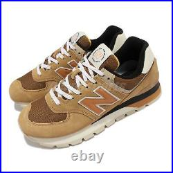 New Balance 574D Rugged Brown Beige Men Casual Lifestyle Shoes ML574DHG-D