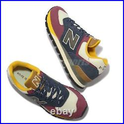 New Balance 574 NB Multi Blue Red White Suede Men Unisex Casual Shoes ML574DNY-D