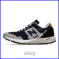New Balance 575 Made In England UK Grey Navy Suede Men Trail Running MTL575NL D