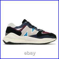 New Balance 57/40 Navy Burgundy Ivory Men Unisex Casual Shoes Sneakers M5740TB D