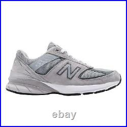 New Balance 990 Wide v5 Grey White Men Running Casual Lifestyle Shoes M990GL5 2E