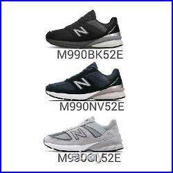 New Balance 990 v5 Wide Made In USA Men Classic Shoes NB Suede Pick 1