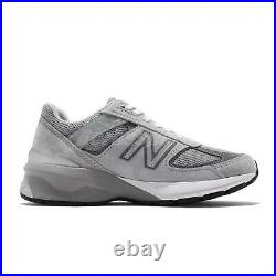 New Balance 990v5 NB 990 Made In USA Grey White Suede Men Casual Shoes M990GL5 D