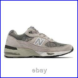 New Balance 991 Made In England UK Grey Men Running Casual Lifestyle M991GL-D