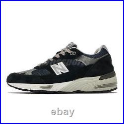 New Balance 991 Made In UK England Navy Grey Men Running Casual Shoes M991NV-D