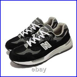 New Balance 992 Made In USA Black White Grey Men Unisex Casual Shoes M992EB D