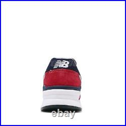 New Balance 997H Red Navy Grey White Men Casual Shoes Sneakers CM997HBJ D