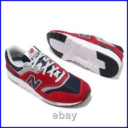 New Balance 997H Red Navy Grey White Men Unisex Casual Shoes Sneakers CM997HBJ D
