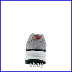 New Balance 997 997H Grey White Black Red Men Casual Shoes Sneakers CM997HFM D