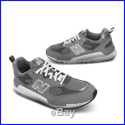 New Balance MS109 D Grey Silver White Mens Lifestyle Running Shoes MS109LC1 D