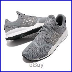 New Balance MS247GK D Grey White Men Running Casual Shoes Sneakers MS247GKD