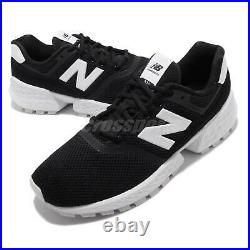 New Balance MS574ABK D Black White Men Running Casual Shoes Sneakers MS574ABKD
