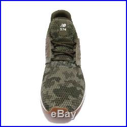 New Balance MS574DCG D Green Camo White Gum Men Running Shoes Sneakers MS574DCGD