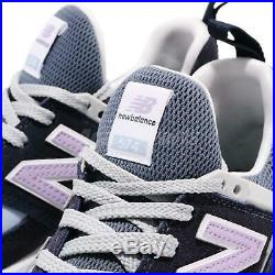 New Balance MS574GNA D Purple Blue White Men Running Casual Shoes MS574GNAD